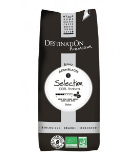 Kawa Sélection, 100% Arabica, ziarnista, EKO, 1 kg, Destination
