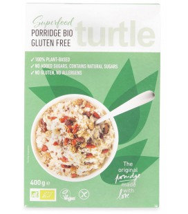 Owsianka Superfood, bezglutenowa, BIO, 400 g, Turtle