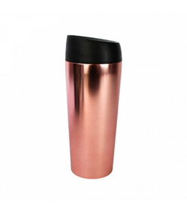 Kubek Termiczny Well - Rose Gold Chrome, 450 ml, WoodWay