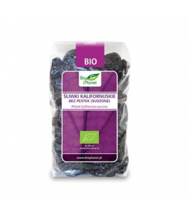 ŚLIWKI KALIFORNIJSKIE BEZ PESTEK BIO, 400 g, BIO PLANET