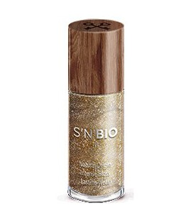 Lakier do paznokci S'N'BIO Earth Collection: GOLD