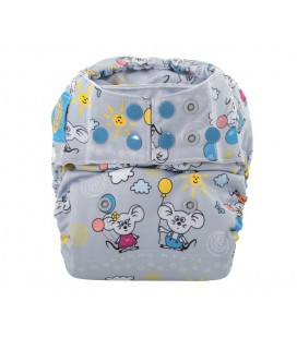 Pieluszka AIO (All-In-One), Balonik, od 6,5 kg do 16 kg, Mommy Mouse
